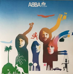 ABBA ‎- The Album (LP) (EX/EX-)